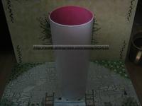 Round White Metal Meium Size Umbrella Stand Pot Holder