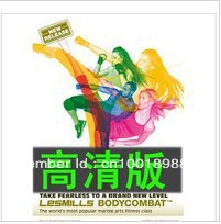 Wholesale Hot BODY COMBAT 54 bodycombat HD VCD+CD(China (Mainland))