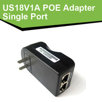 US18V1A Single Port Power Over Ethernet Adapter 18V 18W POE power PoE adapter