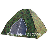 Automatic steelwire rod camping tent, one step lazy tent,camouflage of tent