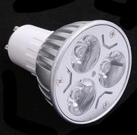10 pcs/lot Dimmable / non-dimmable 3W CE GU10 High Power LED Lamp,White LED Bulb Light Spotlight