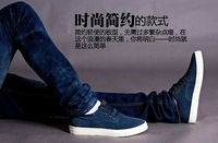 2013 newest design cowhide leather sneakers for men from manufacturer US size 5-15 free shipping