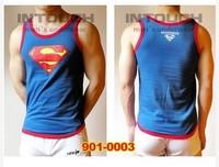 SUPERMAN MENS VEST SINGLET UNDERWEAR TANK TOP T-SHIRT 3 size 4 color