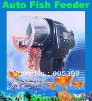 Digital Automatic Aquarium Fish Auto Feeder with Aquarium Food Fish Feeder Timer auto pet feeder Freeshipping