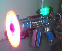 Space Gun Toy Child electric flash gun with music toy pistol child toy gun stunning multi-colored pistol