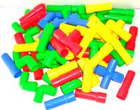 Pipeline building blocks educational toys plastic water blocks