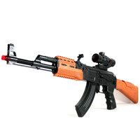 Laser gun Innovation electric toy gun ak7744b gun acoustooptical Large electric gun infrared gift