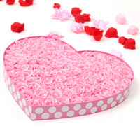 Novelty romantic flower soap birthday present for girlfriend gifts girls gift