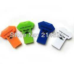 Free Drop Shipping Portable USB2.0 Micro SD SDHC T-Flash TF Mini Trans Flash Mobile Phone Memory Card Reader Writer Support 32GB(China (Mainland))