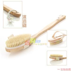 The disassemblability 68 bristle bath brush long handle bath brush spa meridiarns slip-resistant