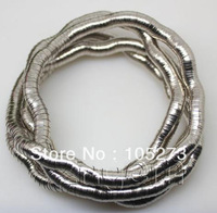 New Arriver Fashion Jewelry Flexible Alloy Bendy Snake Necklace Bracelet 35'' Long Low Price New Free Shipping