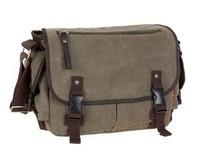 Free shipping hot sell  man bag casual canvas shoulder + messenger+crossbody bag male enhanced