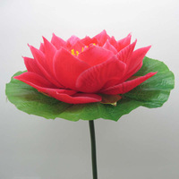 30cm dance props fabric lotus flower hand/hair accessory 5pcs/lot wholesale