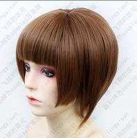 HOT~PSYCHO-PASS Tsunemori Akane Short Brown Cosplay Fashion Wig Free shipping