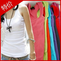 Temperament cotton long T-shirt Free shipping quality guarantee Mix Colour ship accept ,hot vest 10 pics stock Available