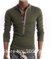 /2013/Free shipping /Man /T-shirt/fashionable men's clothing/POLO shirt/leisure /V/Autumn/long T-shirt/