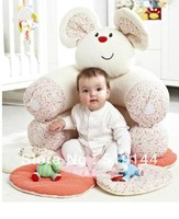 In Stock !!!! Free Shipping ELC Blossom Farm Sit Me Up Cosy-Baby Seat,Baby Play Mat/Small Baby game pad,WHITE kids love gym mat