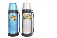 Leak-proof 1000ML Stainless Steel Vacuum Insulation Travel Bottle Cup Portable For Travel Out Door Camping #023J
