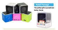 Mini USB Speaker Music Player FM Radio For Micro SD/TF PC iPod MP3 iPhone4