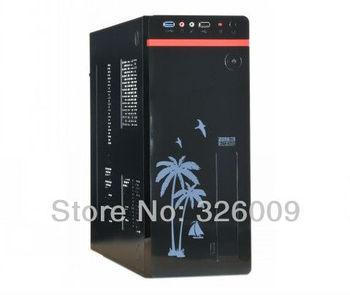 htpc case mini pc case PCCOOLER U3 ATX,M-ATX,U-ATX,ITX mini computer case htpc mini computer case power supply set
