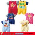 New Hot selling Original baby romper boy&girl's short sleeve romper 100% cotton 4pcs in pack