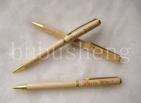 New Elegant Metal Twist Wooden Pen Set /Promotion&amp;Fashion Pen/Free Shipping/Offer Laser Pringting