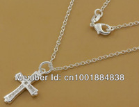 GY-PN496 Retail / wholesale Free Shipping 925 Silver fashion jewelry pendant Chain Necklace , 925 silver jewelry fzxa orea xina