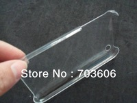 Clear Crystal Hard Back Skin Case Cover for iPhone 3G 3GS Free DHL Shipping 100pcs/lot
