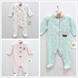 Children&#39;s clothing boy girl newborn clothes little me spring and autumn baby bodysuit long climbing romper(China (Mainland))