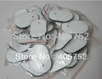 Free Shipping 20pcs/lot TENS EMS Self Adhesive Electrode pads Acupuncture Slimming Massager for Digital Therapy Machine