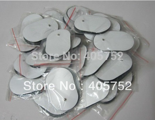 Free Shipping 20pcs/lot TENS EMS Self Adhesive Electrode pads Acupuncture Slimmin