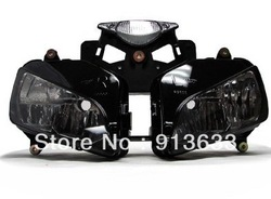 In stock HEADLIGHT HEAD LAMP ASSEMBLY FOR 2004-2007 HONDA CBR 1000RR 1000 RR 04 05 06 07(China (Mainland))