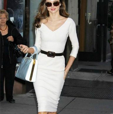 Size White Dress on Dress 2013 New Summer Women Office Dresses Plus Size Wrap White Dress