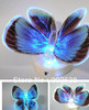 Colorful Fiber Optic Butterfly Nightlight LED Butterfly Night Light For Wedding Room  Night Light For Children Room 10pcs/lot(China (Mainland))