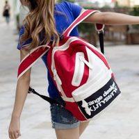 2013 women's bag all-match students backpack travel bag canvas bag backpack casual women's schoolag bag