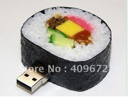 retail genuine 4G 8G 16G 32G usb drive pen drive usb flash drive memory simulation sushi plastic Free shipping+Drop shipping(China (Mainland))