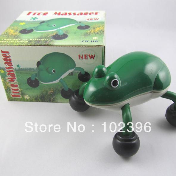 10pcs/lot Animal Massager Cartoon Massager Electric Massager Mini Frog Massager Baby Gifts(China (Mainland))
