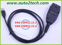 2013 VAG Tool Russian/Czech/English Version VAG11.11.2 Super VCDS11.11 Diagnostic Cable free shipping