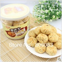 Free shipping Taiwan flavor MaiJiShi small cake leisure food pecan small cake 200 g canned afternoon cakes