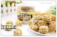 Free shipping Taiwan flavor MaiJiShi small cake leisure food snacks sesame small cake 200 g/ can