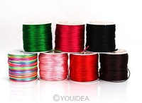 490ft(150meter) 6 colors U PICK Satin Fiber Cord FRIENDSHIP BRACELETS,BRAIDING DIY Jewellery FINDINGS 130277-130282