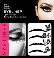 On sale Free Shipping 15 sets (60 pairs) eyeline stickers eyeliner stickers Temporary Tattoos cosmetics tattoo