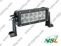 36W cree led light bar - 3W LED-2160 LUMEN ,OFFROAD LED light,, LED WORK LIGHT bar, LED driving light.