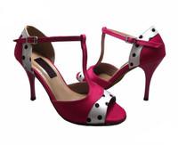 Drop shipment  free shipping ! lady mesh upper ballroom dance shoes latin salsa tango sandal shoe BL033
