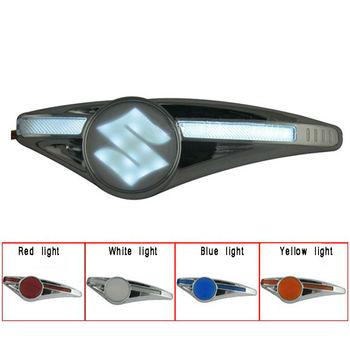 2x Suzuki  Car Logo embedded LED Turn Steering lamp  Indicator Light   Free shipping