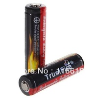 TrustFire Protected 14500 3.7V 900mAh Rechargeable Lithium Batteries Battery (2-Pack)