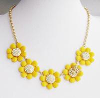 Free Shipping KS Daisy Honey Bee Statement Necklace, Wedding, Banquet , 2013 Fashion Jewelry .
