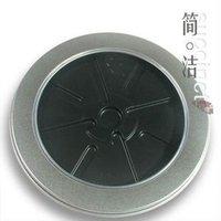 Free shipping 25pcs/lot round singal cd box dvd boxes cd bag case