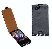 2013 min order is 1pcs High Quality Leather Case Sleeve for Sony Ericsson Xperia Arc (X12/ Anzu) / Arc S LT18i Free Shipping