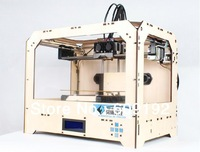 3D printer,  three-dimensional physical printer.double nozzle